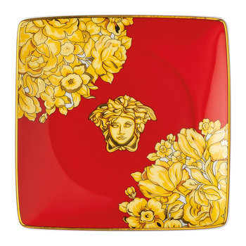 Medusa Rhapsody Decorative Dish - Red