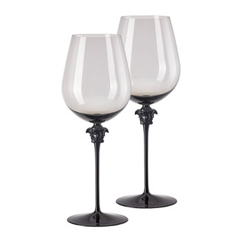 Medusa Lumiere Wine Glasses - Set of 2 - Haze