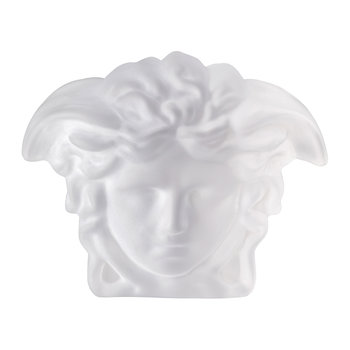 Medusa Lumiere Crystal Paperweight - Clear