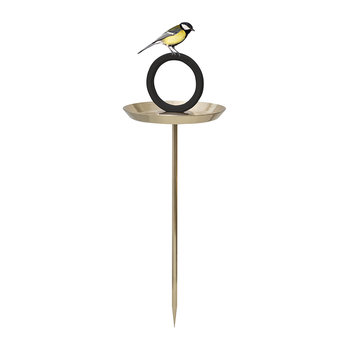 Round Up Bird Bath - Gold-Plated