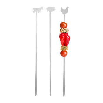 Brochette à Viande Barbecue - Lot de 3