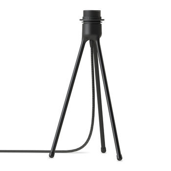Tripod Matt Table Lamp Stand - Black