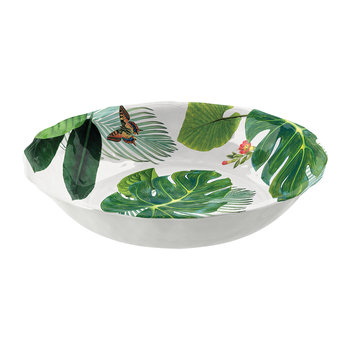 Amazon Floral Melamine Serving Bowl
