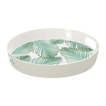 Amazon Floral Tropical Tea Tray