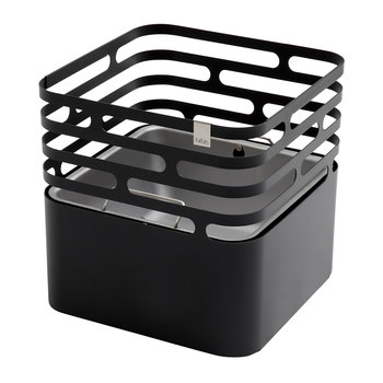 Cube Fire Basket - Black