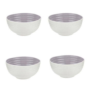 Colour Pop Cereal Bowls - Set of 4 - Mulberry
