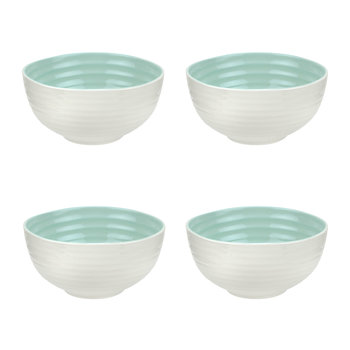 Colour Pop Cereal Bowls - Set of 4 - Celadon