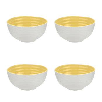 Colour Pop Cereal Bowls - Set of 4 - Sunshine