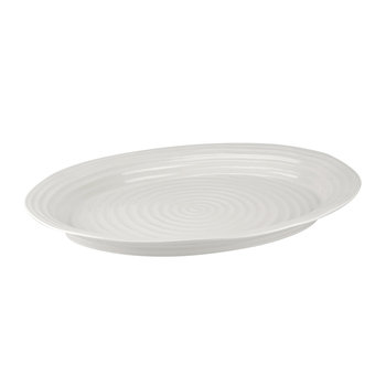 White Porcelain Large Platter