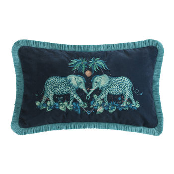 Zambezi Pillow - Teal - 30x50cm