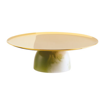 Cake Stand - Green Jade - 16cm