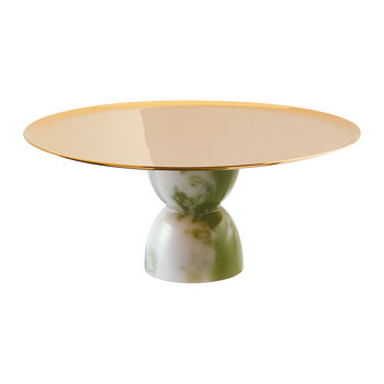 Cake Stand - Green Jade - 22cm