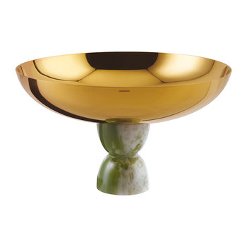 Footed Cup - Green Jade