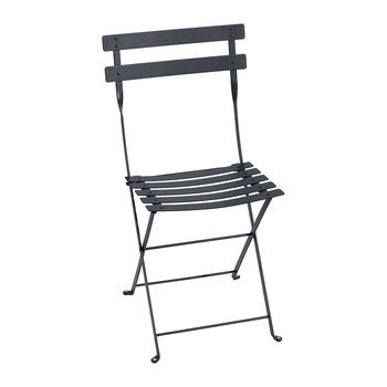 Bistro Metal Garden Chair - Anthracite