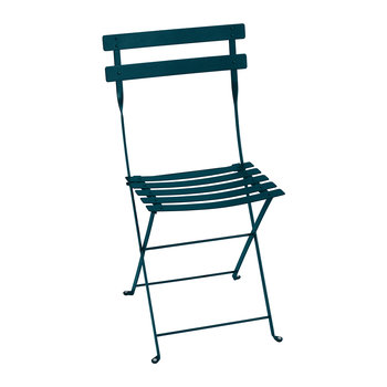 Bistro Metal Garden Chair - Acapulco Blue