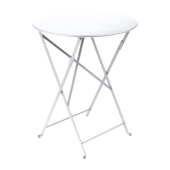 Bistro Garden Table - 60cm - Cotton White