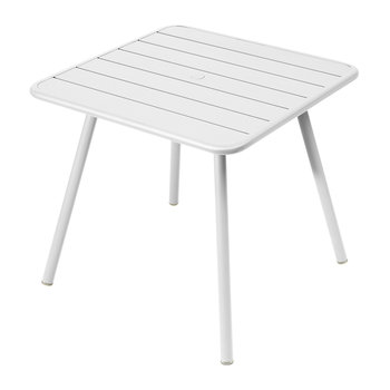 Luxembourg Garden Table - Cotton White