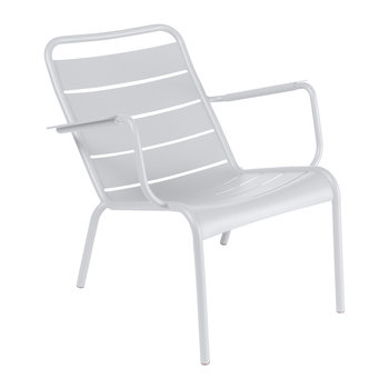 Fauteuil Bas Luxembourg - Blanc Coton