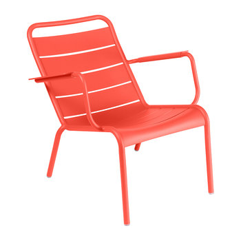Luxembourg Low Armchair - Poppy