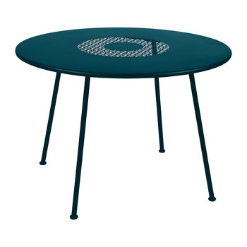 Lorette Garden Table - Acapulco Blue