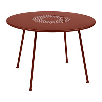 Lorette Garden Table - Red Ocher