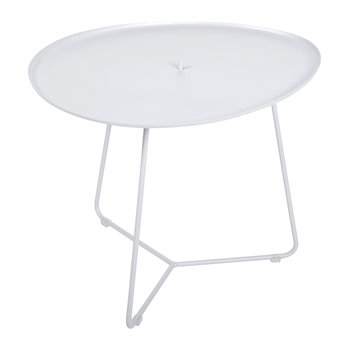 Cocotte Low Table - Cotton White