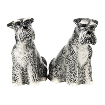 Schnauzer Salt & Pepper Shakers