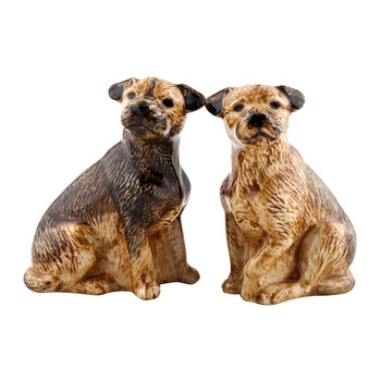 Border Terrier Salt & Pepper Shakers