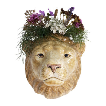 Lion Wall Vase