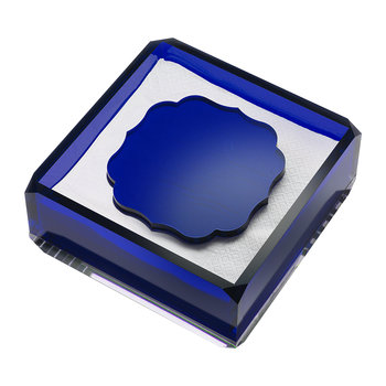 Acrylic Napkin Holder - Royal Blue