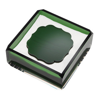 Acrylic Napkin Holder - Green