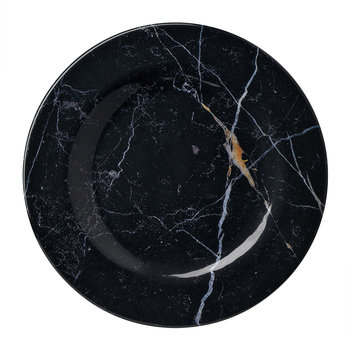 Moreschina Plate - Black - Medium