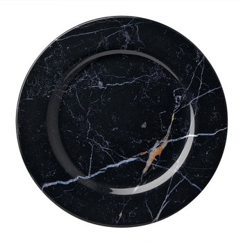 Moreschina Plate - Black - Large