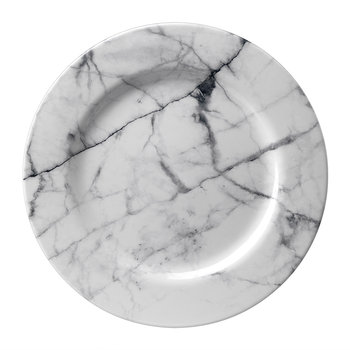 Moreschina Plate - White - Large