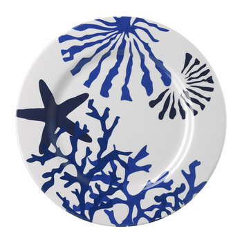 Corallo Plate - Blue - Large