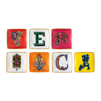 Alphabet Trinket Tray - Set of 7