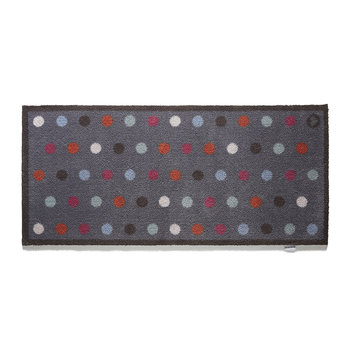 Spot Washable Recycled Door Mat - Navy