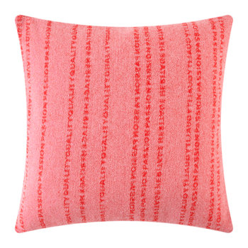 Believe In Cushion - Pink