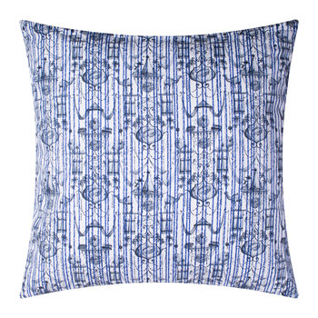 Believe In Centuries Cushion - 40x40cm - Royal Blue