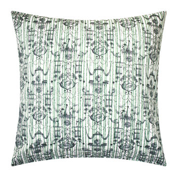 Believe In Centuries Cushion - 40x40cm - Green