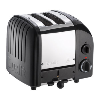 Classic Toaster - Matte Black Finish - 2 Slot