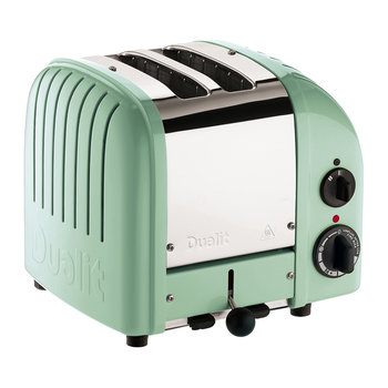 Classic Toaster - Mint Green Finish - 2 Slot