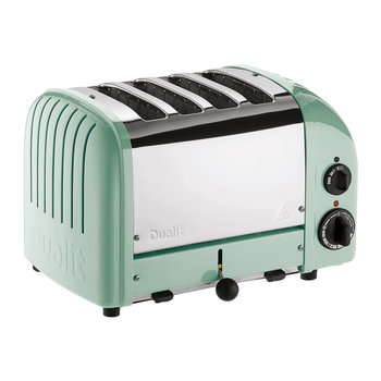Classic Toaster - Mint Green Finish - 4 Slot
