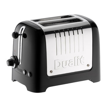 Lite Toaster - Black - 2 Slot