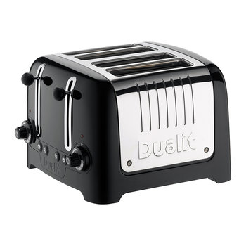Lite Toaster - Black - 4 Slot