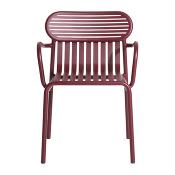 Week End Bridge Chair - Red