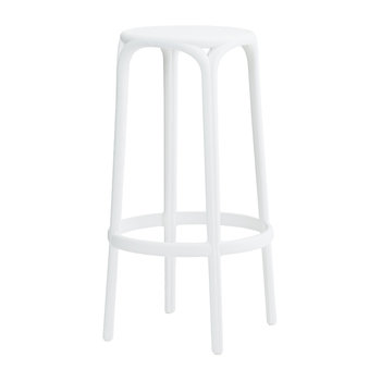 Brooklyn Bar Stool - White