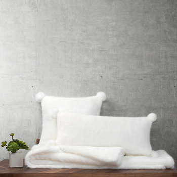 Shay Boudior Cushion - Snow