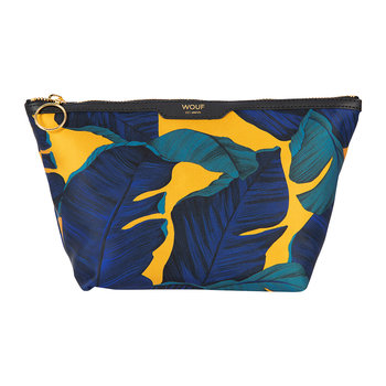 Satin Cosmetic Bag - Barbados