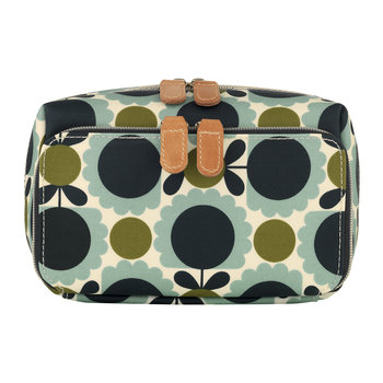Scallop Print Wash Bag